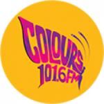 Logo da emissora Radio Colours 101.6 FM
