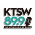 Logo da emissora KTSW 89.9 FM