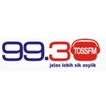 Logo da emissora Radio TOSS 99.3 FM