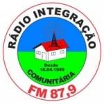 Logo da emissora Rádio Intregração 87.9 FM