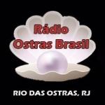 Logo da emissora Rádio Ostras Brasil 92.9 FM