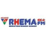Logo da emissora Rhema Radio 88.6 FM