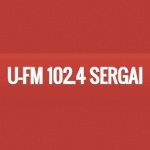 Logo da emissora U-FM 102.4 FM