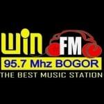 Logo da emissora Win 95.7 FM