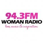 Logo da emissora Woman Radio 94.3 FM