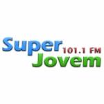 Logo da emissora Super Jovem 101.1 FM Goiás