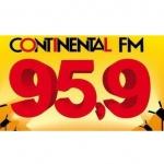 Logo da emissora Rádio Continental 95.9 FM