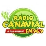 Logo da emissora Rádio Canavial 96.9 FM