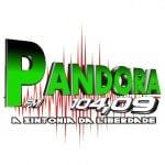 Logo da emissora Pandora FM