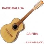 Logo da emissora Rádio Balada Caipira