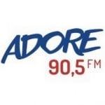 Logo da emissora Rádio Adore 90.5 FM