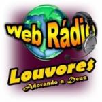 Logo da emissora Web Rádio Louvores