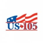 Logo da emissora KUSJ 105.5 FM