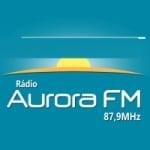 Logo da emissora Rádio Aurora 87.9 FM