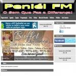 Logo da emissora Web Rádio Peniel FM