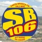 Logo da emissora Rádio SB 106.3 FM