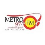 Logo da emissora Metro 97.6 FM