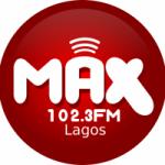 Logo da emissora Radio Max 102.3 FM