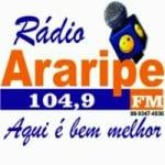 Logo da emissora Radio Araripe 104.9 FM