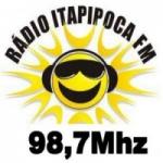 Logo da emissora Rádio Itapipoca 98.7 FM