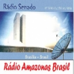 Logo da emissora Rádio Amazonas Brasil