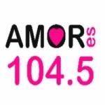 Logo da emissora Radio Amor 104.5 FM