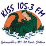 Logo da emissora WYKS 105.3 FM Kiss