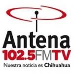 Logo da emissora Radio Antena 102.5 FM
