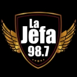 Logo da emissora Radio La Jefa 98.7 FM