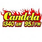 Logo da emissora Radio Candela 1340 AM 95.1 FM