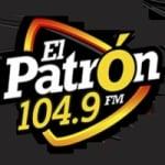 Logo da emissora Radio El Patrón 104.9 FM