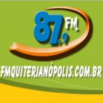 Logo da emissora Rádio Quiterianópolis 87.9 FM
