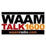 Logo da emissora WAAM 1600 AM Talk