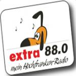 Logo da emissora Extra 88.0 FM