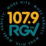 Logo da emissora KVLY 107.9 FM