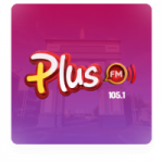 Logo da emissora Rádio Plus 105.1 FM