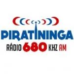 Logo da emissora Rádio Piratininga 680 AM