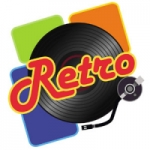 Logo da emissora Radio Retro Rock N Pop