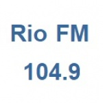 Logo da emissora Rádio Rio 104.9 FM