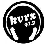 Logo da emissora KVRX 91.7 FM