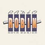 Logo da emissora Radio Robin 99.5 FM