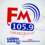 Logo da emissora Rádio Campo Alegre 105.9 FM