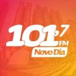 Logo da emissora Rádio Novo Dia 101.7 FM