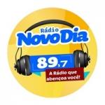Logo da emissora Rádio Novo Dia 89.7 FM