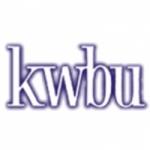 Logo da emissora KWBU 103.3 FM