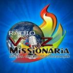 Logo da emissora Rádio Voz Missionária OC 25, 31 e 49 mts.