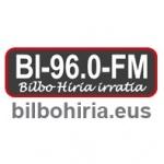 Logo da emissora Radio Bilbo Hiria Irratia 96.0 FM