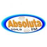 Logo da emissora Rádio Absoluta 104.9 FM