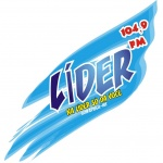 Logo da emissora Rádio Líder 104.9 FM