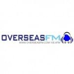 Logo da emissora Radio Overseas 105.4 FM